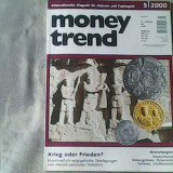 Revista de numismatica- Money Trend - Internationales Magazin fuer Muenzen und Papiergeld Nr.5/2000 - Roman