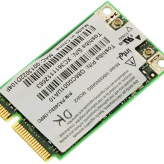Placa de retea wireless laptop Toshiba Satellite A100, Intel WM3945ABG MOW2, G86C0001UA10, V000060840, 6042B0025302, K000037030, PA3489U-1MPC