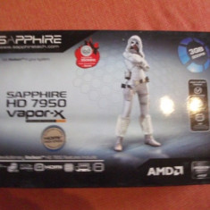 Placa video Sapphire Ati Radeon Vapor-X HD7950, 950Mhz(OC), 3072MB - Placa video PC Sapphire, PCI Express, 3 GB