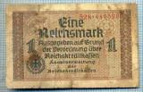 1904 BANCNOTA NOTGELD ?- GERMANIA - 1 REICHSMARK - anul 1920 ?  -SERIA 446398 -starea care se vede