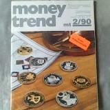 Revista de numismatica- Money Trend - Internationales Magazin fuer Muenzen und Papiergeld Nr.2/1990 - Roman