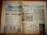 ziarul gazeta sporturilor 7 martie 1990 - cupa cupelor dinamo-partizan belgrad