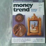 Revista de numismatica- Money Trend - Internationales Magazin fuer Muenzen und Papiergeld Nr.4/1998 - Roman