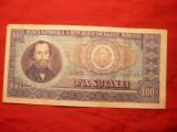 Bancnota 100 Lei 1966 , cal.Buna