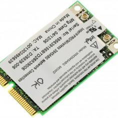 Placa de retea wireless laptop HP Compaq Presario V6400, Intel WM3945ABG MOW2, 407674-002, 407576-002, 396331-002