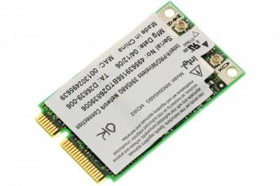Placa de retea wireless laptop HP Compaq Presario V6400, Intel WM3945ABG MOW2, 407674-002, 407576-002, 396331-002 foto