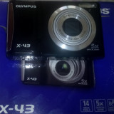 Olympus x43 - Aparat Foto compact Olympus, Compact, 14 Mpx, 4x