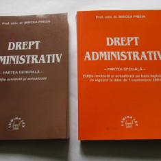 DREPT ADMINISTRATIV-Prof.Univ.DR-MIRCEA PREDA - Carte Drept administrativ