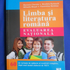 MANUAL LIMBA SI LITERATURA ROMANA - EVALUAREA NATIONALA - Carte Teste Nationale