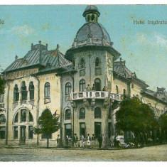 2260 - CORABIA, Hotelul Imparatul TRAIAN - old postcard - unused - Carte Postala Oltenia 1904-1918, Necirculata, Printata