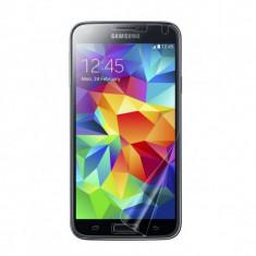 Folie Samsung Galaxy S5 Transparenta - Folie de protectie Samsung, Lucioasa