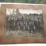 Foto de grup veche promotia general Dragalina perioada probabila 1920- 1930 cu semnaturi personale ale diversilor ofiteri - Fotografie veche