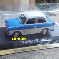 Macheta metal DeAgostini - Trabant P50 -SIGILATA+revista Masini de Legenda nr.15 - Macheta auto, 1:43