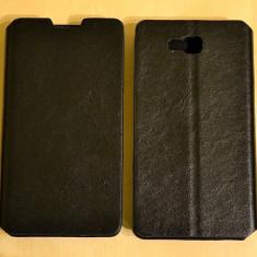 Husa LG Optimus L9 II D605 Flip Case Slim Black - Husa Telefon LG, Negru, Piele Ecologica, Cu clapeta, Toc