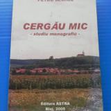 PETRU SECHEL - CERGAU MIC. STUDIU MONOGRAFIC. Carte cu dedicatie si autograf