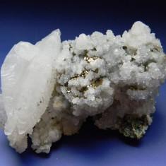Specimen minerale - CUART SI PIRITA - Fosila roca