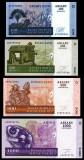 MADAGASCAR █ SET █ 100+200+500+1000 Ariary █ 2004 █ P-86a-89a █ UNC necirculata