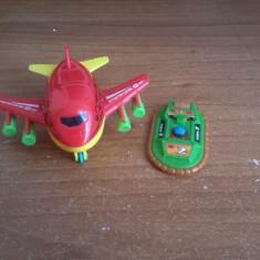 Avion+masinuta - Avion de jucarie, 2-4 ani, Plastic, Baiat