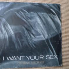 george michael I Want Your Sex muzica pop disc single vinyl 1987 editie vest