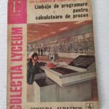 LIMBAJE DE PROGRAMARE PENTRU CALCULATOARE DE PROCES - DAN N. DOBRESCU