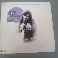 ANDY KIM - GREATEST HITS - (1974) - ABC REC- DISC VINIL/PICK-UP - made in USA - Muzica Rock Altele