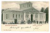 1466 - L i t h o,  SATU MARE, new steam - old postcard - used - 1902, Circulata, Printata