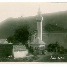 762 - ADA-KALEH, Mosque - old postcard, real FOTO - unused - Carte Postala Oltenia 1904-1918, Circulata, Fotografie
