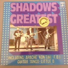 SHADOWS - GREATEST (1975 /EMI REC/ RFG ) - DISC VINIL/VINYL/IMPECABIL/RAR - Muzica Rock Columbia