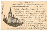 1533 - ZALAU, Salaj, Reformed Church - old postcard - used - 1929, Circulata, Printata