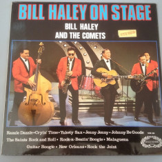 BILL HALEY & THE COMETS - ON STAGE (1974/ENGLAND/PICKWICK) - DISC VINIL/PICK-UP - Muzica Rock Altele