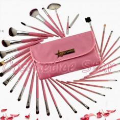 Set 31 pensule machiaj Fraulein38 Pink Candy - Pensula machiaj
