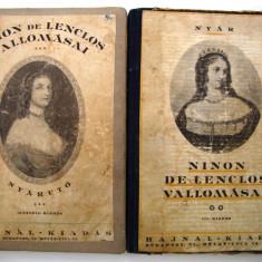 Carte in lb. maghiara Ninon de Lenclos Vallomassai - Carte in maghiara