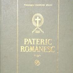PATERIC ROMANESC - Ioanichie Balan - Carti ortodoxe