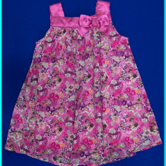 DE FIRMA _ Rochie / rochita de gala, impecabila, H&M _ fete | 18 - 24 luni | 92, Marime: Alta, Culoare: Roz