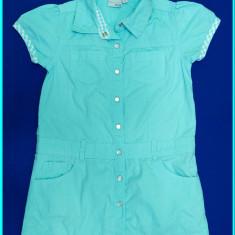 FRUMOASA _ Rochie de vara CHIC, panza bumbac, BLUE SEVEN _ fete | 4-5 ani | 110, Marime: Alta, Culoare: Bleu