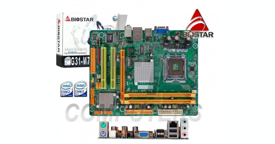 Biostar G31E-M7 6.x Onboard VGA Windows Vista 64-BIT