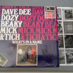 DAVE DEE, DOZY, BEAKY, MICK & TICH - WHAT'S IN.. (1967 /FONTANA REC/HOLLAND)- VINIL - Muzica Rock Altele