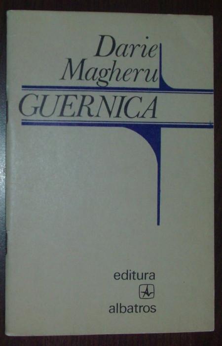 DARIE MAGHERU - GUERNICA (POEME) [editia princeps, 1974] foto mare