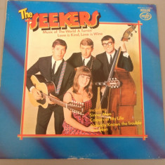 THE SEEKERS - LOVE IS KIND, LOVE IS WINE (1967 /EMI REC /USA ) - VINIL/VINYL- RAR - Muzica Rock emi records