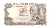 SPANIA 100 PESETAS 1970 VF