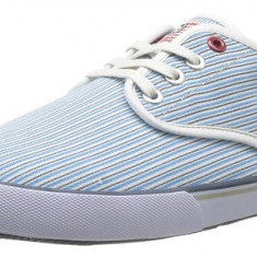 Adidasi US Polo Assn Hugh originali - tenisi barbati - adidasi originali - panza - in cutie - 43, Culoare: Bleu, Textil