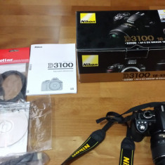 Vand aparat foto Nikon D3100+accesorii
