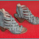 DE FIRMA → Sandale dama, din piele, elegante, moderne, MJUS → femei | nr. 40