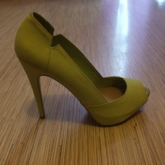 Vand Pantofi Bershka - Pantof dama, Culoare: Din imagine, Marime: 37, Din imagine