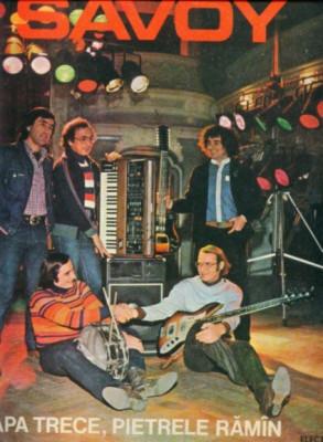 -Y- SAVOY / APA TRECE PIETRELE RAMAN DISC VINIL LP foto
