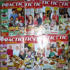REVISTA PRACTIC IN BUCATARIE. NR. 12 / 1 2008 / 2009, 2 - 10, 12, AN APARITIE 2009 - Revista casa