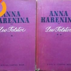 ANNA KARENINA - de Lev Tolstoi 2 volume