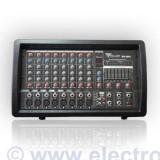 MIXER AMPLIFICAT LINIE PHANTOM USB 2X100W - Mixere DJ