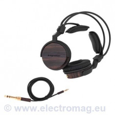 CASTI ABANOS KRUGER&MATZ, Casti On Ear, Cu fir, Mufa 3, 5mm, Active Noise Cancelling