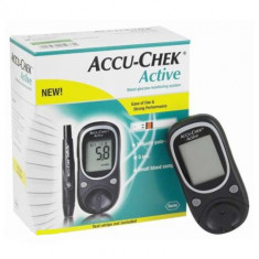 Pachet aparat testare glicemie Accu-Check cu 10 teste - Glucometru
